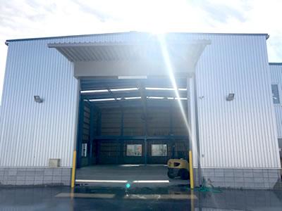 令和元年12月吉日 株式会社三法炉工新倉庫竣工